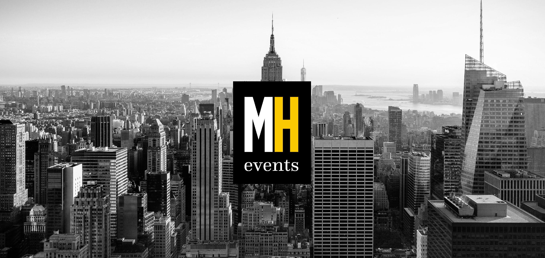 Banner con logo de MANHAPPEN EVENTS agencia de eventos en Madrid